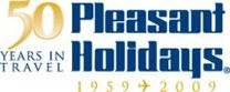 Pleasant Holidays Button